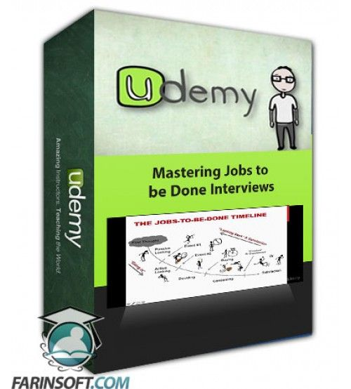 آموزش Udemy Mastering Jobs to be Done Interviews