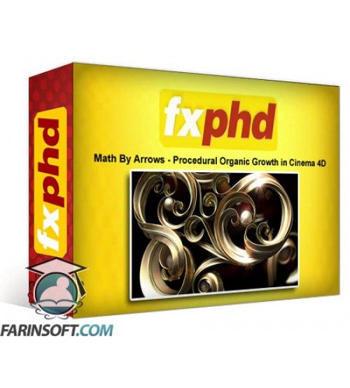 آموزش FXphd Math By Arrows – Procedural Organic Growth in Cinema 4D
