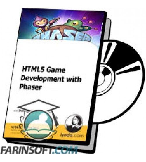 آموزش Lynda HTML5 Game Development with Phaser
