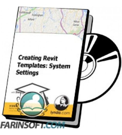 آموزش Lynda Creating Revit Templates: System Settings