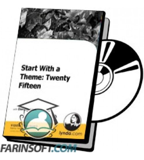 آموزش Lynda Start With a Theme: Twenty Fifteen