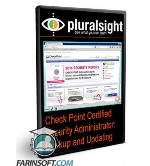 آموزش PluralSight Check Point Certified Security Administrator: Backup and Updating
