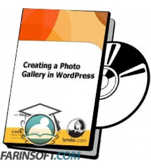 آموزش Lynda Creating a Photo Gallery in WordPress