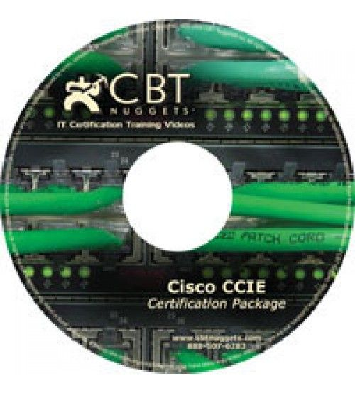 آموزش CBT Nuggets Cisco CCIE Certification Package