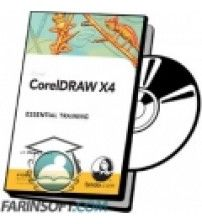 آموزش Lynda CorelDRAW X4 Essential Training