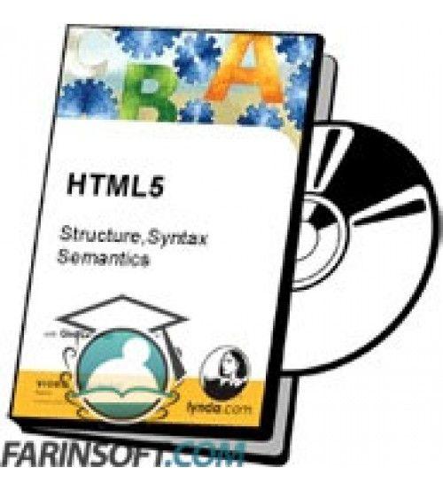 آموزش Lynda HTML5 – Structure,Syntax,Semantics