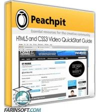 آموزش PeachPit HTML5 and CSS3 Video QuickStart Guide