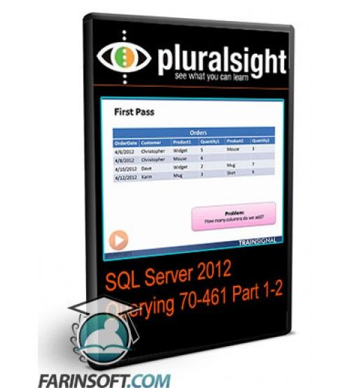 آموزش PluralSight SQL Server 2012 Querying 70-461 Part 1-2