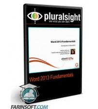 آموزش PluralSight Word 2013 Fundamentals