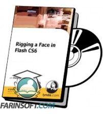 آموزش Lynda Rigging a Face in Flash Professional CS6
