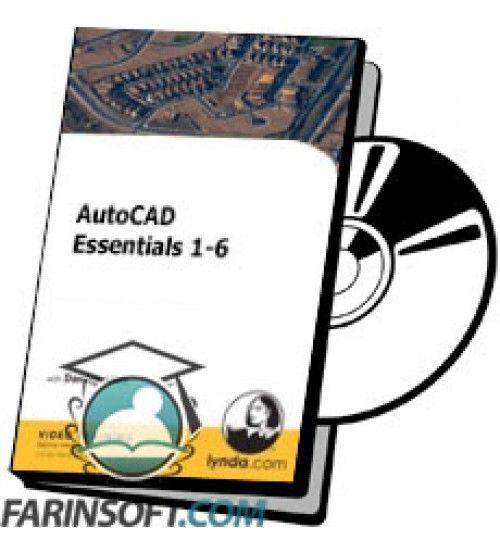 آموزش Lynda AutoCAD Essentials 1-6