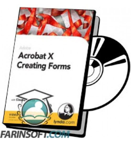 آموزش Lynda Acrobat X Creating Forms