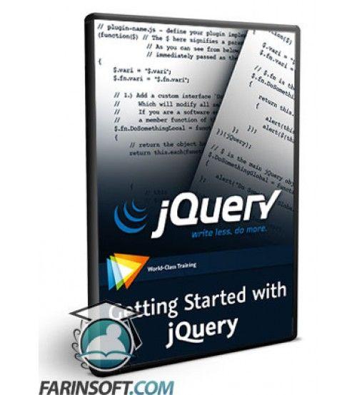 آموزش  Getting Started with jQuery