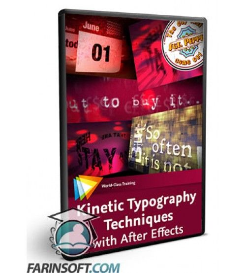 آموزش  Kinetic Typography Techniques with After Effects