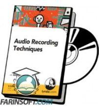 آموزش Lynda Audio Recording Techniques