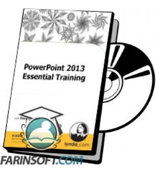 آموزش Lynda PowerPoint 2013 Essential Training
