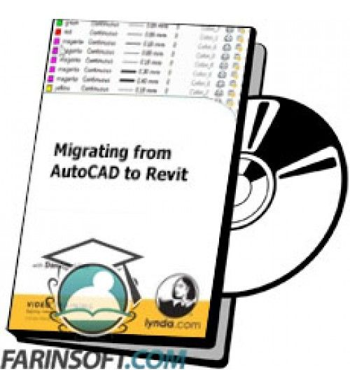 آموزش Lynda Migrating from AutoCAD to Revit