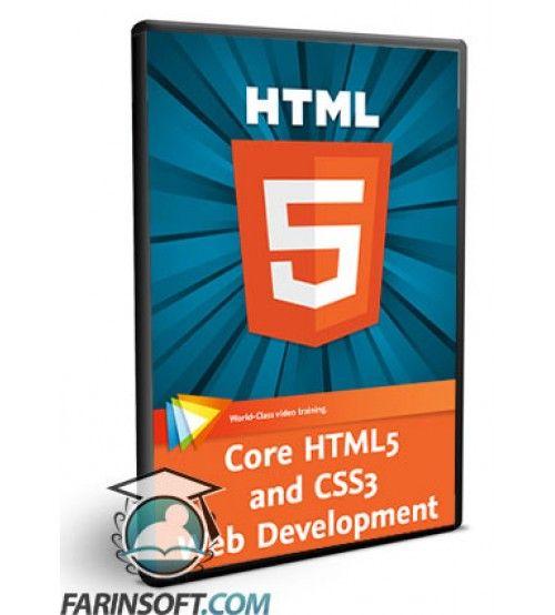 آموزش  Core HTML5 and CSS3 Web Development