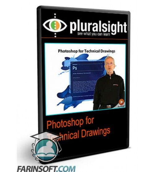 آموزش PluralSight Photoshop for Technical Drawings