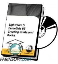 دانلود آموزش Lynda Lightroom 5 Essentials 05 Creating Prints and Books