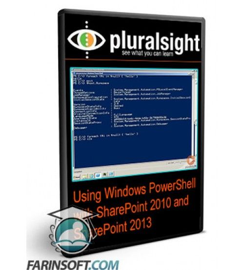 آموزش PluralSight Using Windows PowerShell with SharePoint 2010 and SharePoint 2013