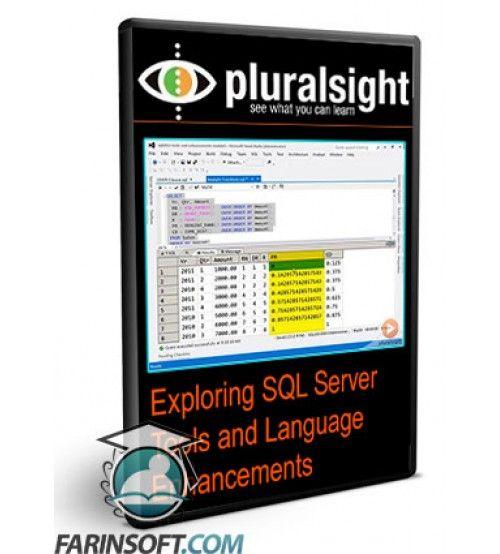 آموزش PluralSight Exploring SQL Server Tools and Language Enhancements