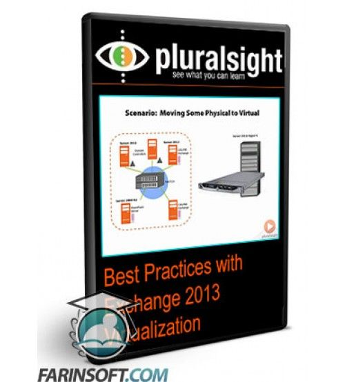 آموزش PluralSight Best Practices with Exchange 2013 Virtualization