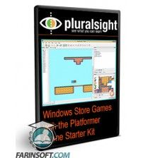 آموزش PluralSight Windows Store Games with the Platformer Game Starter Kit