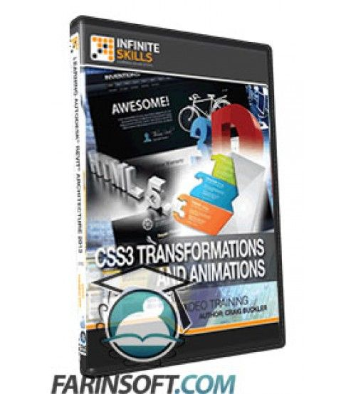 آموزش InfiniteSkills CSS3 Transformations And Animations