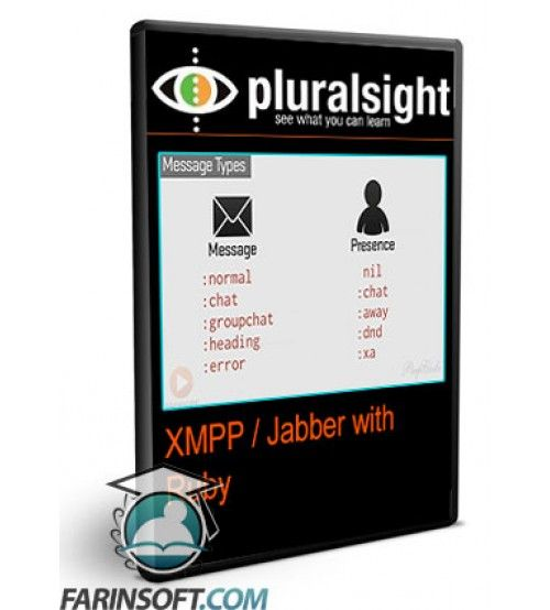 آموزش PluralSight XMPP / Jabber with Ruby