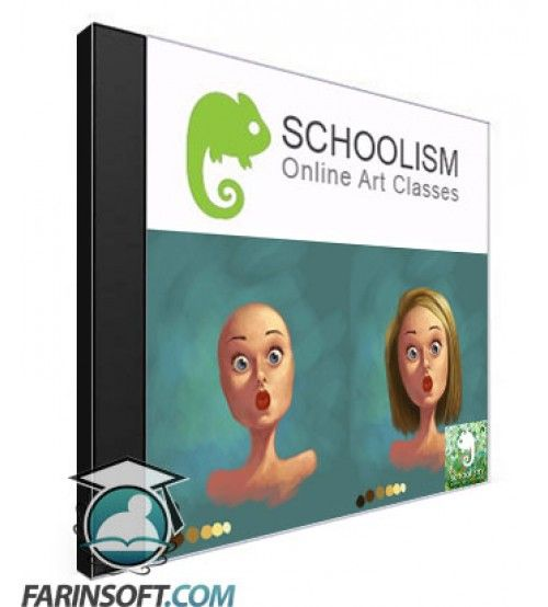 دانلود آموزش Schoolism Digital Painting with Bobby Chiu