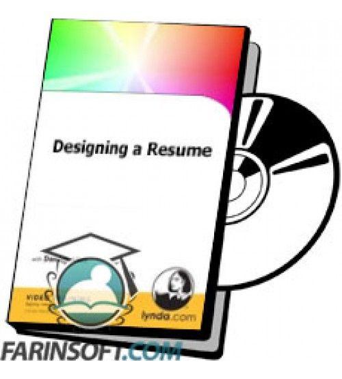 آموزش Lynda Designing a Resume