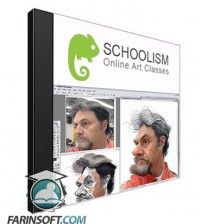 دانلود آموزش Schoolism The Art of Caricature with Jason Seiler