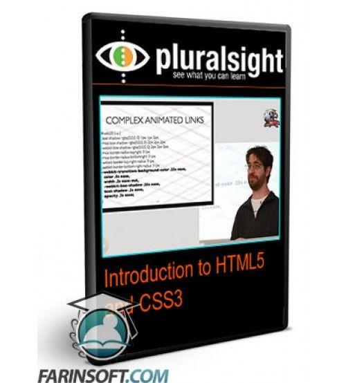 آموزش PluralSight Introduction to HTML5 and CSS3