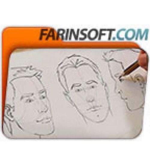 آموزش Digital Tutors Methods for Drawing the Human Head
