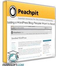 آموزش PeachPit Building a WordPress Blog People Want to Read