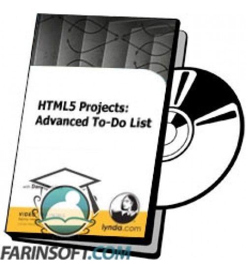 آموزش Lynda HTML5 Projects: Advanced To-Do List