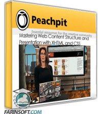آموزش PeachPit Mastering Web Content Structure and Presentation with XHTML and CSS
