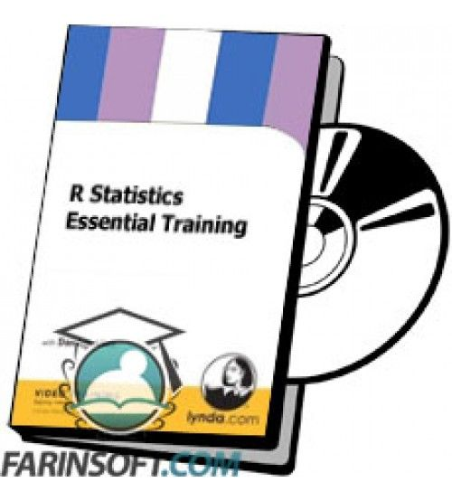 آموزش Lynda R Statistics Essential Training
