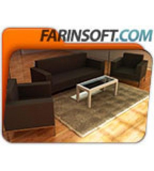 آموزش Digital Tutors Creating a 3D Furniture Layout in AutoCAD