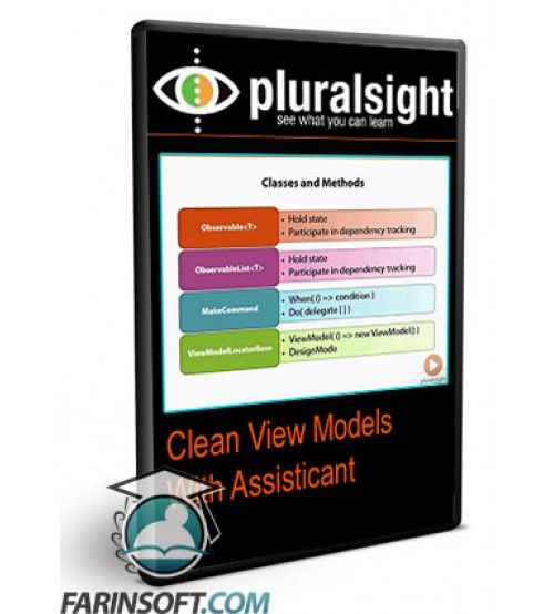 آموزش PluralSight Clean View Models With Assisticant
