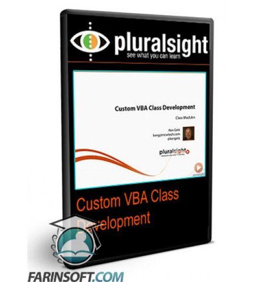 آموزش PluralSight Custom VBA Class Development