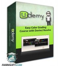 آموزش Udemy Easy Color Grading Course with Davinci Resolve
