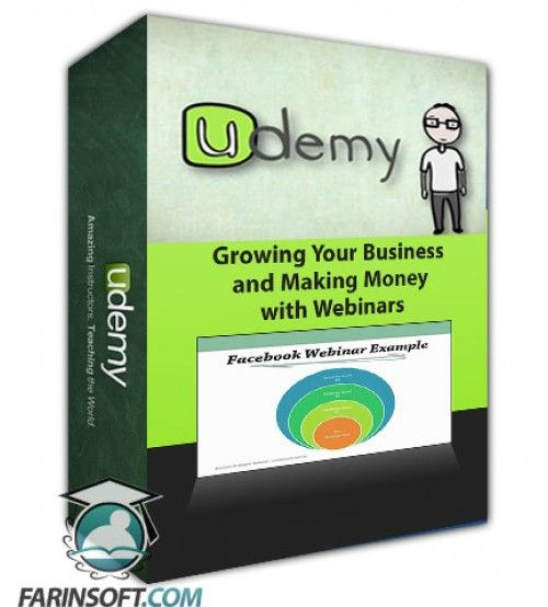 آموزش Udemy Growing Your Business and Making Money with Webinars