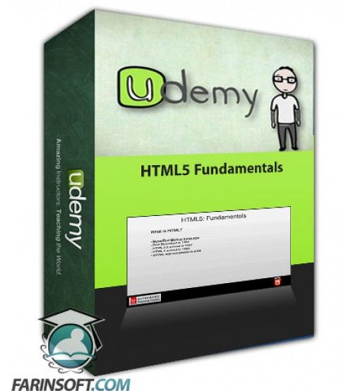 آموزش Udemy HTML5 Fundamentals