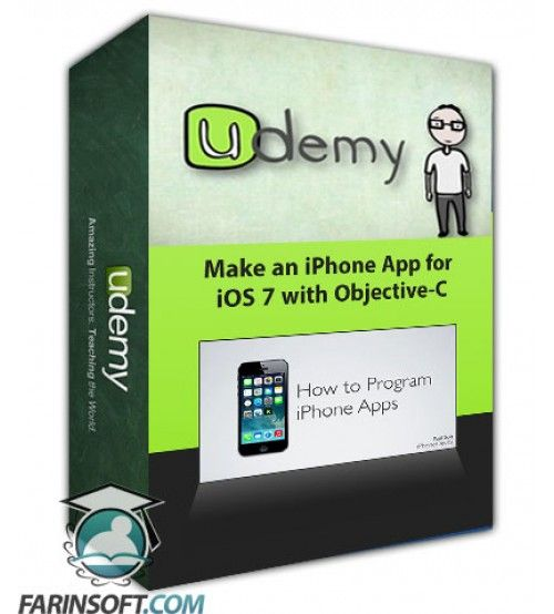 آموزش Udemy Make an iPhone App for iOS 7 with Objective-C