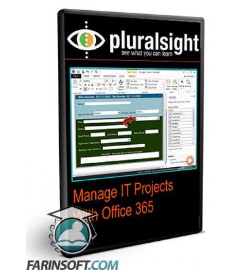 آموزش PluralSight Manage IT Projects With Office 365
