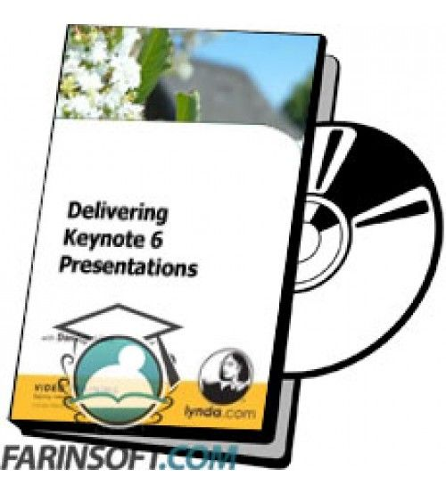 آموزش Lynda Delivering Keynote 6 Presentations