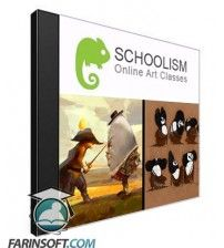 دانلود آموزش Schoolism Designing with Color and Light Beginner