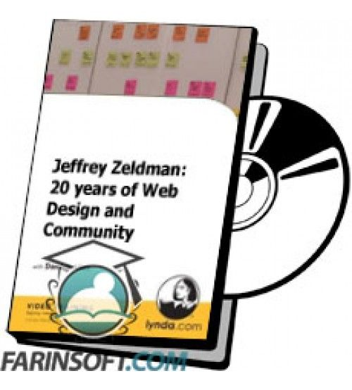 آموزش Lynda Jeffrey Zeldman: 20 years of Web Design and Community